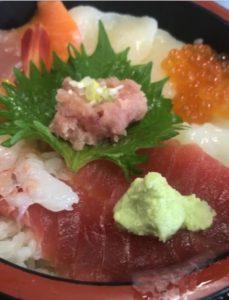 八食センター 海鮮丼 刺し身