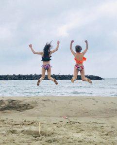 秋田 本庄マリーナ 海水浴場