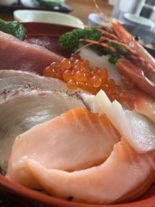 碁石海岸 海鮮丼