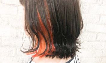 イヤリングカラー オレンジ